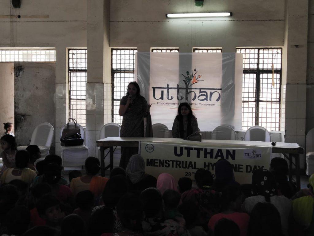 Menstrual Hygiene Drive at Harola Village, Noida