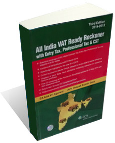 ALL INDIA VAT - READY RECKONER 3RD EDITION